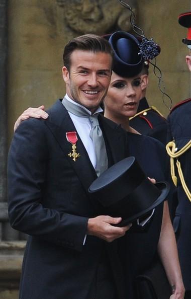 I Beckham Al Royal Wedding Del Principe William E Kate Middleton 201791