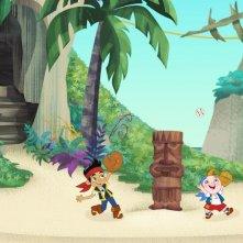 Un'immagine della serie animata Jake e i Pirati dell'Isola che non c'è