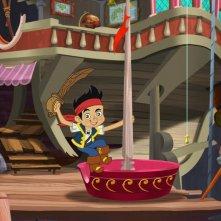 Un'immagine della serie animata Jake e i Pirati dell'Isola che non c'è, dal 14 Maggio 2011 su Disney Junior