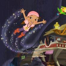 Una scena della serie animata Jake e i Pirati dell'Isola che non c'è