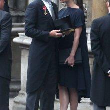 Victoria e David Beckham al royal wedding del Principe William e Kate Middleton