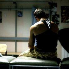 Clemente Russo di spalle in un'immagine del film TATANKA