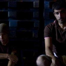 Damir Todorovic e Carmine Recano in una scena del film Tatanka