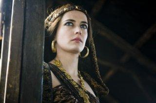 Eva Green in una scena di Camelot