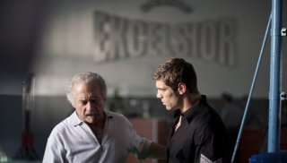 Giorgio Colangeli e Clemente Russo in una scena del film TATANKA