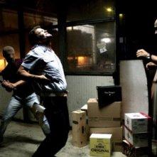 Lorenzo Scialla ed Enzo Pane in una sequenza feroce del film Tatanka