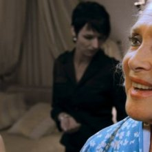 Maria de Medeiros con Micheline Presle nel film HH, Hitler à Hollywood
