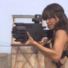 Michelle Rodriguez in un'immagine del film Machete