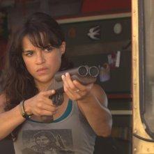 Michelle Rodriguez nel film Machete
