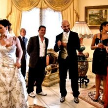 Raiz nella scena del matrimonio nel film Tatanka
