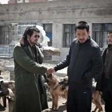 Una scena del film The Yellow Sea