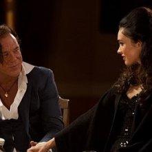 Mickey Rourke con Megan Fox nel film Passion Play