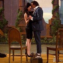 Mickey Rourke e Megan Fox, protagonisti del film Passion Play