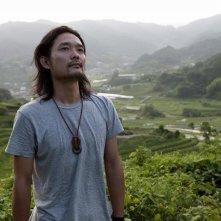 Una scena del film Hanezu no Tsuki (2011)