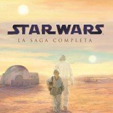La copertina di Star Wars - La saga completa (blu-ray)