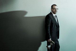 Lars Von Trier in una foto promo di Melancholia