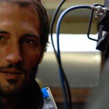 Luigi Iacuzio in una scena del film La misura del confine