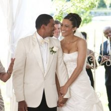 Paula Patton e Laz Alonso, teneri protagonisti del film Jumping the Broom