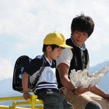 Shun Oguri nel film Gaku: Minna no Yama