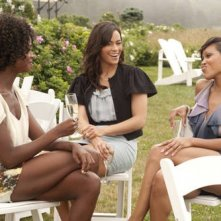 Tenika Davis, Paula Patton e Meagan Good nel film Jumping the Broom