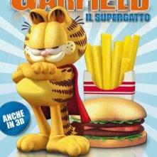 La locandina italiana di Garfield il supergatto
