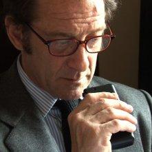 Vincent Lindon nel film Pater, di Alain Cavalier