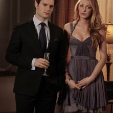 Louis (Hugo Becker) e Serena (Blake Lively) nell'episodio The Princesses and the Frog di Gossip Girl