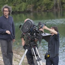 Paolo Sorrentino sul set del suo This Must Be the Place.