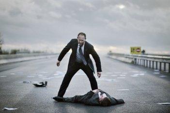 Una scena del film L'exercice de l'État