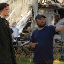 Benjamin Walker e il regista Timur Bekmambetov sul set di Abraham Lincoln: Vampire Hunter