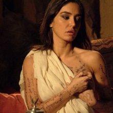 Emanuela Garuccio nel dramma Il mercante di stoffe