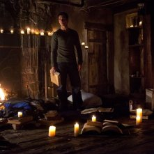 Jeremy (Steven R. McQueen) in una scena nell'episodio The Sun Also Rises di Vampire Diaries