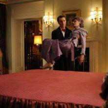 Paul Dano e Marian Seldes in una scena del film The Extra Man