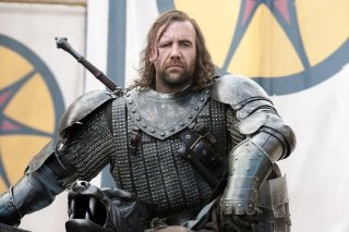 Rory McCann nell'episodio Cripples, Bastards, and Broken Things di Game of Thrones