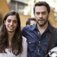 Virginia Valsecchi con Massimo Poggio ne I liceali 3