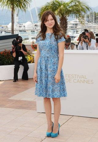 Cannes 2011 - Lea Seydoux presenta Midnight in Paris