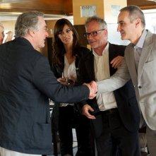 Festival di Cannes 2011: Linn Ullmann, Robert De Niro, Martina Gusman, Thierry Frémaux e Olivier Assayas si incontrano il primo giorno di Festival