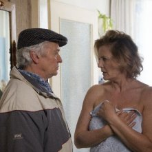 Henry Hübchen e Grazyna Szapolowska nel film Polnische Ostern