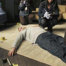 Jon Huertas e Tamala Jones nell'episodio Lucky Stiff di Castle