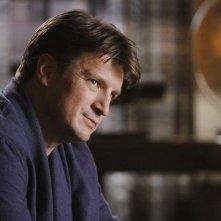 Nathan Fillion in una scena dell'episodio The Final Nail di Castle