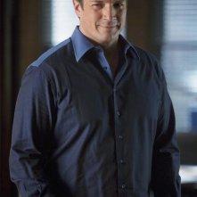 Nathan Fillion nell'episodio Setup di Castle
