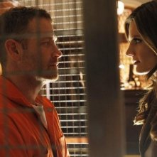 Stana Katic e Max Martini nell'episodio Knockout di Castle