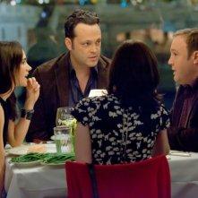 Vince Vaughn e Kevin James con Jennifer Connelly e Winona Ryder nella commedia Il Dilemma