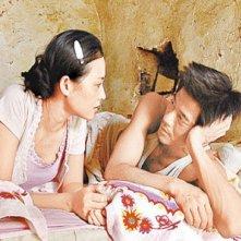 Zhang Ziyi e Aaron Kwok, protagonisti del film Mo shu wai zhuan