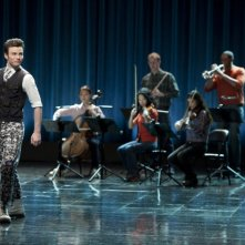 Chris Colfer nell'episodio Funeral di Glee
