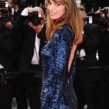 Festival di Cannes 2011: la bella Gaia Bermani Amaral sul tappeto rosso
