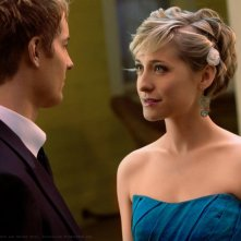 Chloe (Allison Mack) guarda negli occhi Oliver (Justin Hartley) in: Finale di Smallville