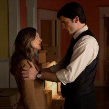 Clark (Tom Welling) e Martha (Annette O'Toole) nell'episodio Finale di Smallville
