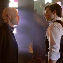 Clark (Tom Welling) faccia a faccia con Lex (Michael Rosenbaum) nell'episodio Finale di Smallville