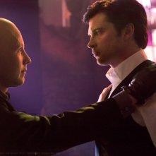 Lex (Michael Rosenbaum) e Clark (Tom Welling) nell'episodio Finale di Smallville